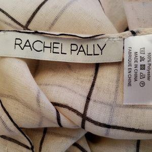 Rachel Pally Accessories - *NEW* Rachel Pally Cream and Black Grid Scarf